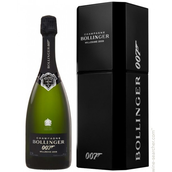 Bollinger, Vintage Brut, James Bond 007 Edition 2009