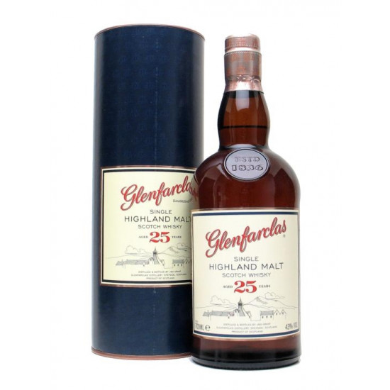 Glenfarclas 25 Year Old (70cl) Single Highland Malt Whisky