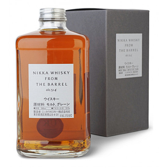 Nikka Whisky From The Barrel (50cl), Japanese Whisky