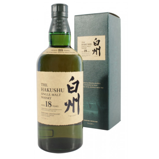 The Hakushu 18 Year Old (70cl) Single Malt Japanese Whisky