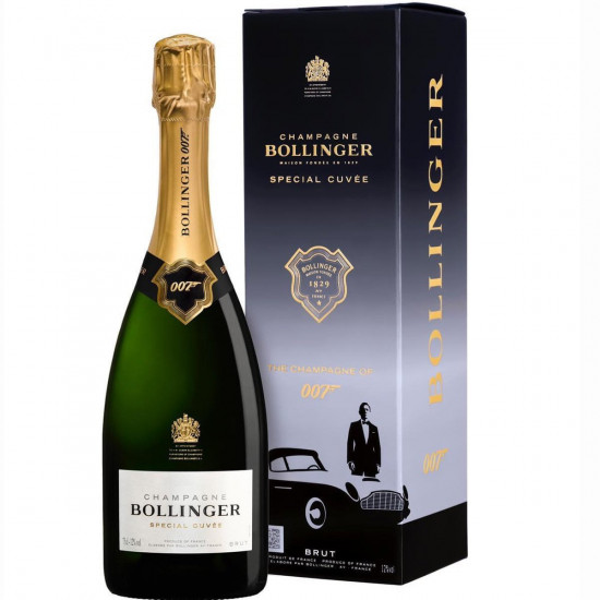 Bollinger 007 James Bond Special Cuvee Gift Boxed
