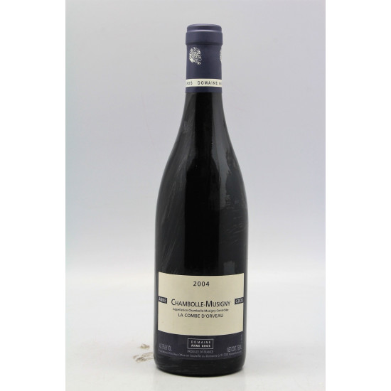 Domaine Anne Gros Chambolle Musigny La Combe D'Orveau 2014